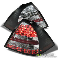 Black 2005-2007 Mercedes-Benz W203 C-Class Lumileds LED Tail Lights Brake Lamps