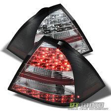 Black 2005-2007 Mercedes-Benz W203 C-Class Lumileds LED Tail Lights Brake Lamps