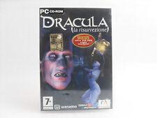 Dracula La risurrezione Edizione Speciale Gioco PC Cd-Rom Wanadoo Microids