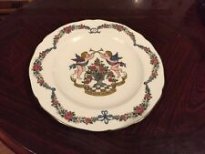 Vintage Spode Fine Bone China Silver 25th Wedding Anniversary Plate