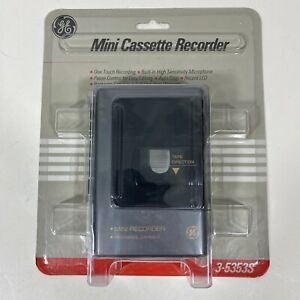 GE Mini Cassette Recorder Player 3-5353S Vintage New Old Stock NOS