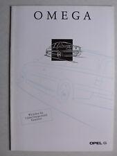 Prospekt Opel Omega B Limousine Caravan MV6, 8.1997, 24 Seiten
