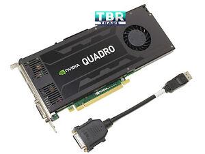 Dell NVIDIA Quadro K4200 4GB GDDR5 PCI-E 2.0 x16 Video Graphics Card J4F85