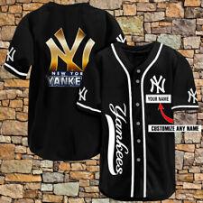 Personalized New York Yankees Legend Champions Custom Men Women Baseball Jersey