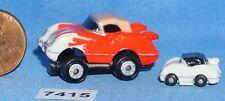 MICRO MACHINES '55 CORVETTE INSIDERS with Mini '55 Corvette Vintage Galoob