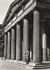 1934 Vintage 11x14 GERMANY Berlin Guard Column Architecture Photo Art HURLIMANN