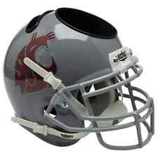 WASHINGTON STATE COUGARS Football Helmet OFFICE PEN/PENCIL/BUSINESS CARD HOLDER