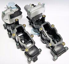 2x SAUGROHRKLAPPE mit STELLMOTOREN 2.7 TDI 3.0 TDI V6 AUDI A4 A6 Q7 A5 TOUAREG