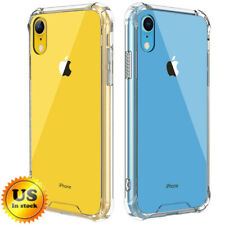 For iPhone XS MAX XR Protective Clear Cover Crystal Hybrid Transparent Case Slim