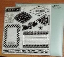 CTMH D1644 THE AUTHENTIC LIFE ~ TOP-NOTCH, Frame, Arrows,ONE AMAZING DAY,Journal