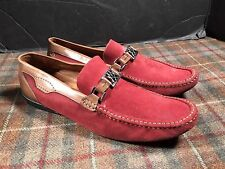 Mezlan Red Brown Mens Sz 10 Driving Moccasin Loafers Gently Worn Wow!