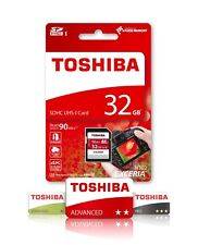 32GB SD Toshiba Exceria Memory Card For DSLR Digital Camera Class 10 U3 SDHC 4K