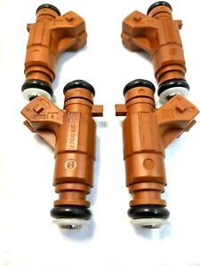 4XFUEL INJECTOR OEM  Bosch  0280156023 FOR  Saab 9-3 9-5 Turbocharged 2.3L 2.0L