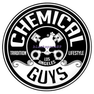 Metal Tin Sign round chemical guys Bar Pub Retro Poster 30cm diameter