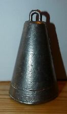 2lbs Lead Bell Weight/Bomb for Sea, Boat and Wreck Fishing. Free UK Post