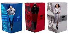 Star Wars Barbie Set of 3 R2D2, Darth Vader, Princess Leia New COAs included