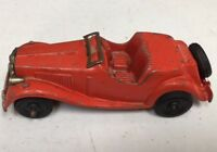 RED HUBLEY KIDDIE  ROADSTER CONVERTIBLE -LANCASTER PA 6""
