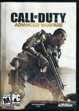 Call of Duty: Advanced Warfare (PC DVD ROM) 6 Discs - Complete
