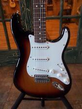 Fender Standard Stratocaster Solid Body Electric Guitar Brown Sunburst