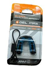 Shock Doctor Sport Gel Max Adult Mouth Guard (Blue/Black) 11 yr. Youth and Up