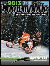 2013 Arctic Cat Bearcat 570 Z1 F5 F570 TZ1 snowmobiles repair service manual CD