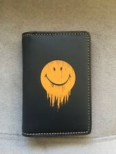 NWT Coach Bifold Card wallet with Gnarly face black 58627
