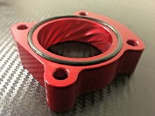 (X705-BR) RED Throttle Body Spacer for 2008 - 2015 Toyota SCION xB 2.4l 2AZ-FE