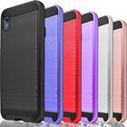 For Motorola Moto E 2020 / E6 Phone Case Cover + Tempered Glass Protector
