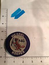 Vintage Usaf F-4G Weasel Keeper Squadron Patch