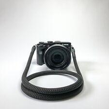 Universal Kameragurt DSLR Kameraseil Tragegurt Trageriemen Camera Strap schwarz