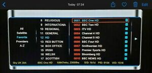Channel list Update ** 2021 **  FREEVIEW only  ****OPENBOX V8S F5S *****UK SAT