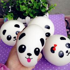 Small Panda Squishy Bread Bun Kid's Toy Charms Strap Pendant Phone Random 2Pcs