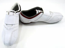 a948db9e1ca582 LaCoste Shoes Futur M 2 BM   USA SPM White Maroon Brown Sneakers Size