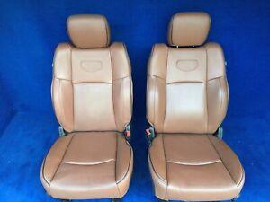 2018 2017 Dodge Ram 3500 2500 Longhorn Laramie Front Sests Tan Leather