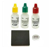 JSP Gold Jewelry Testing Acid 10k 14k 18k Kit Scratch Tester Stone + N52 Magnet
