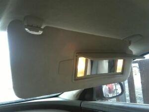 Passenger Sun Visor Illuminated Leather Fits 10-13 XJ 8686152