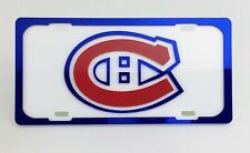 Montreal Canadiens Hockey Front Licence Plate Logo Novelty 214g 12in x 6in I926