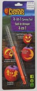 Pumpkin Masters 4 In 1 Carving Tool New Basic Carving Detail Smoothing Sculpting