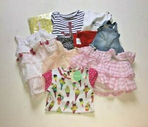 Baby Girl Summer Clothing Bundle x 8 Items - 18-24 Months