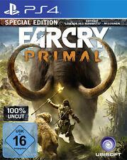 Ps4 juego Far Cry Primal (100% UNCUT) - Special Edition incl. Mammut DLC mercancía nueva
