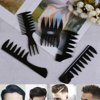 Oil Hair Comb Wide Teeth Hair Comb Classic Oil Slick Styling Hair Brush For BDQA