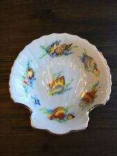 VTG Vintage Ben Rickert Porcelain Fine China Trinket Shell Soap Dish Beauty