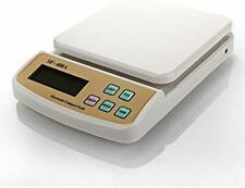 Weighing Scale Weltime Electronic Digital LCD Weight Kitchen Maximum 10 Kgs