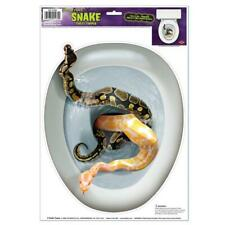 Snakes Toilet Seat Cover Cling Decoration