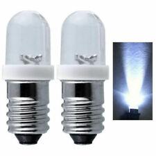 2/10Pcs E10 LED Screw Base Indicator Bulb 6/12/24V DC Illumination Lamp Lights