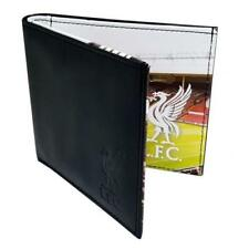 Liverpool Stadium Leather Wallet - FC Panoramic Official Football 801 Licensed