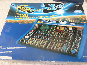 SCIENCE FAIR ELECTRONIC PROJECT LAB 130 IN 1 INCLUDES ALL WIRES AND INSTRUCTIONS
