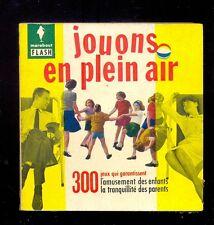 Marabout Flash 80 Christiane LINET Jouons en plein air (300 jeux)