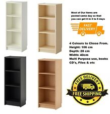 Ikea BILLY Bookcase,Display Rack,Adjustable Shelves,Shelving Unit,106cm x 40cm