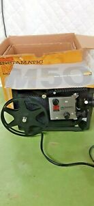 Vintage Kodak instamatic M 50 movie projector supper 8 movies #D50